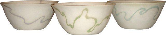 Ribbon Bowls, S/3