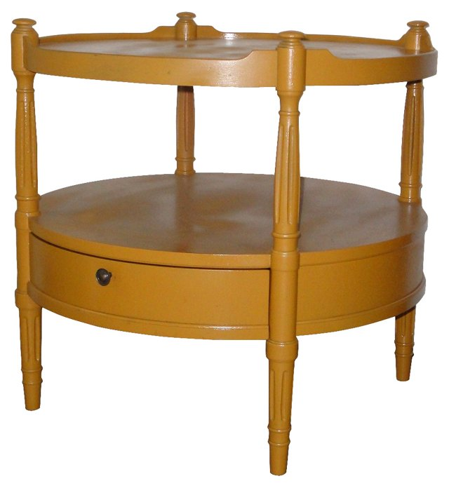 Mustard  Occasional Table