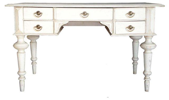 Gustavian  5-Drawer Desk
