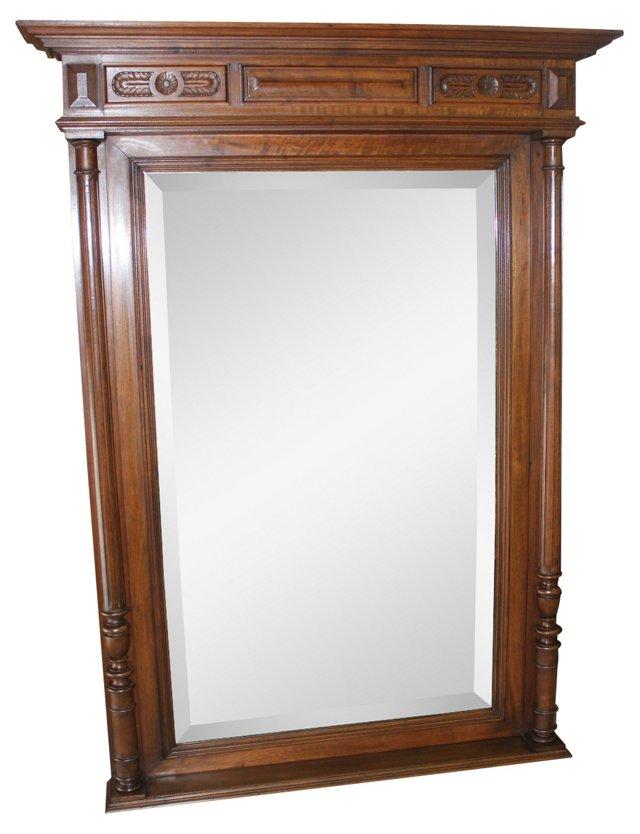 Antique Louis XIII-Style Mirror