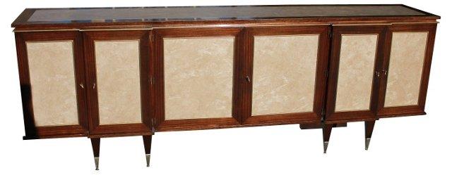 French Art Deco Mahogany Buffet