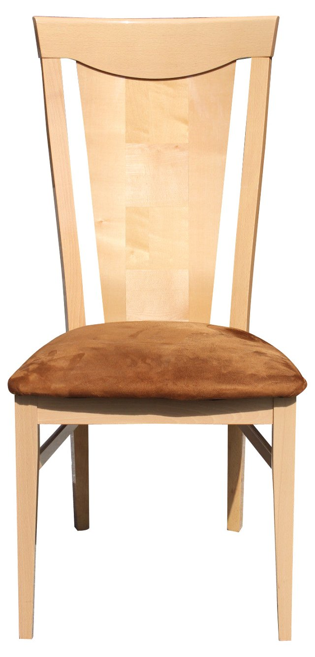 Italian Maple Dining Chairs, S/6