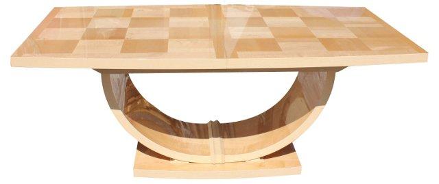 Italian Art Deco-Style Dining Table