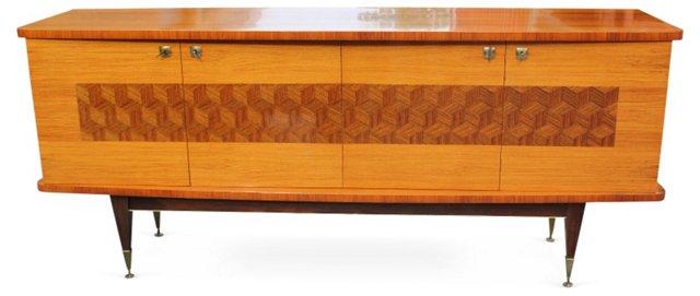 French Art Deco Palisander   Buffet