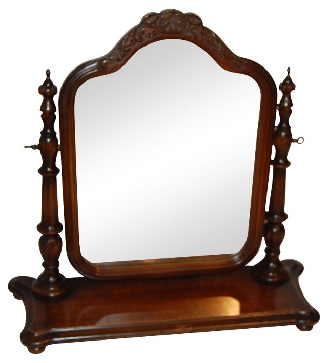 Table Mirror w/ Stand Base