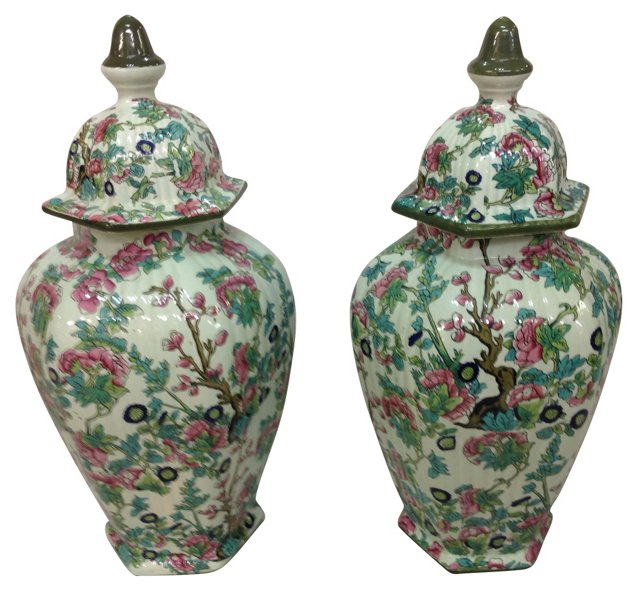 European Urns, Pair