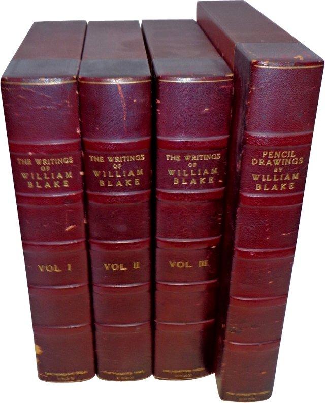 William Blake Books, Set of 4
