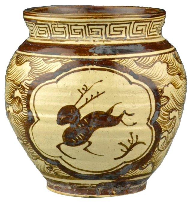 Antique Chinese Cizhou Jar