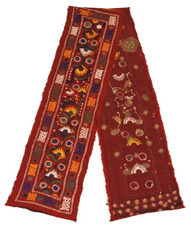 Antique Red Indian Shisha Banner