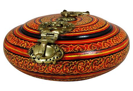 Round Malabar Box
