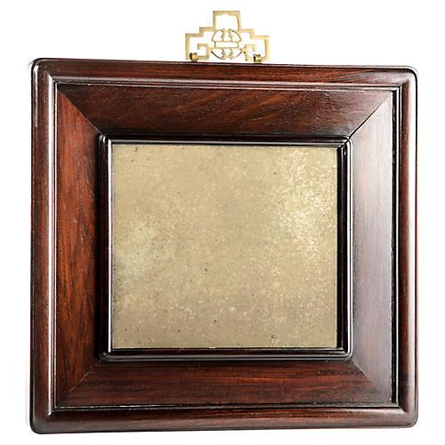 Elegant Rosewood Mirror
