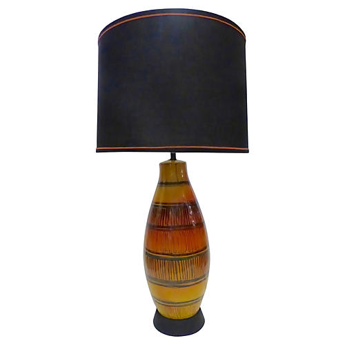 Tall Ceramic Table Lamp