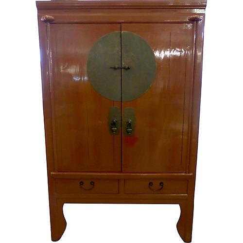Midentury Asian-Style Cabinet