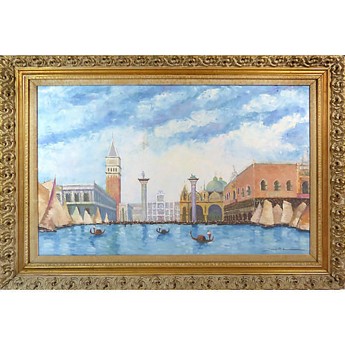 Water View of Piazza San Marco