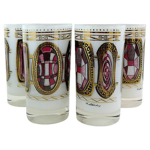 MCM H.Stemberg Highball Glasses, S/4