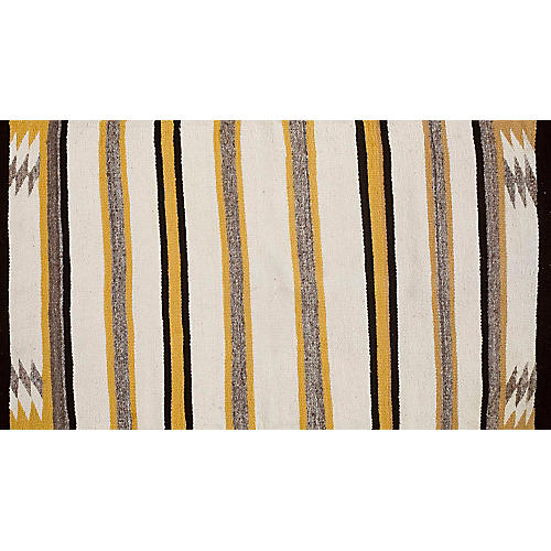 "Navajo-Style Rug, 2'9"" x 5'"