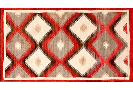 Navajo Style Rug 3'0