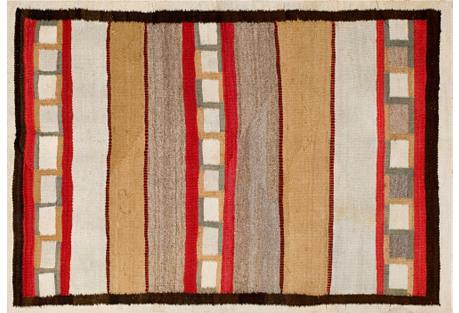 Navajo Style Rug,  3'2