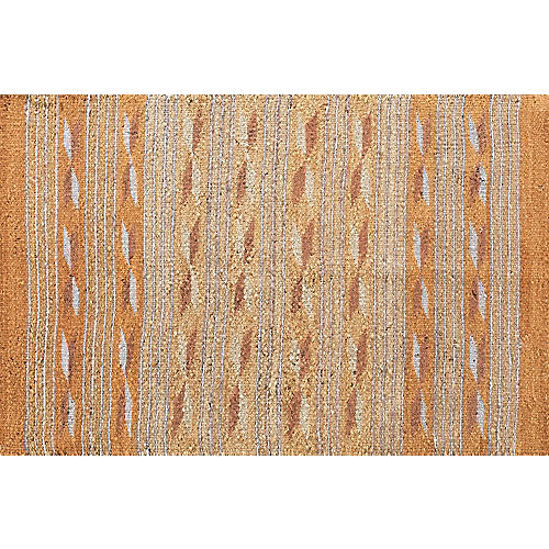 "Navajo-Style Rug, 2'1"" x 3'"