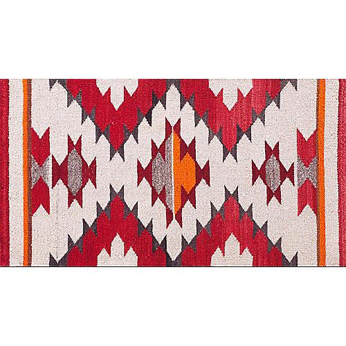 "Navajo-Style Rug, 1'6"" x 2'8"""