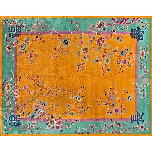 Chinese Rug, 9' x 11'