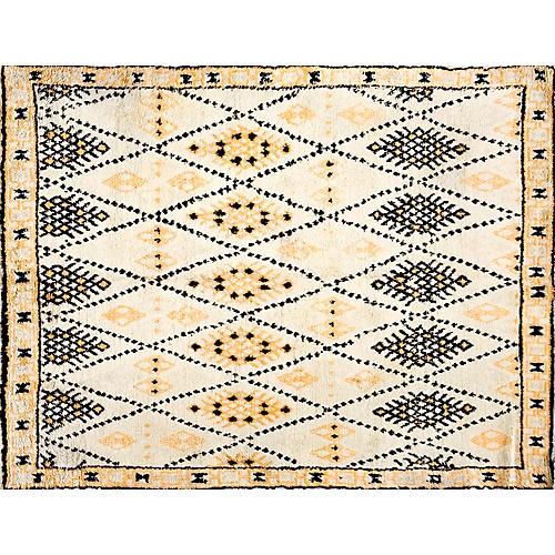 "Moroccan Rug, 5'3"" x 6'9"""