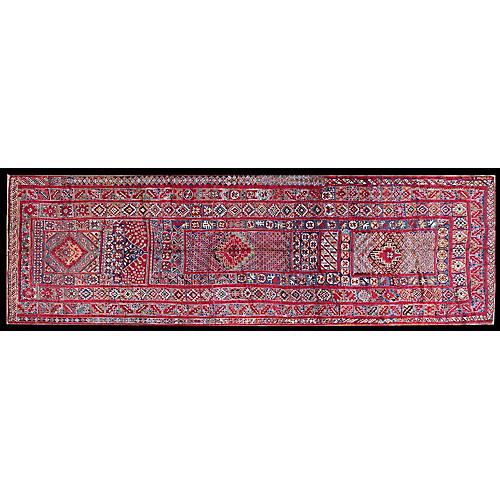 "Moroccan Rug, 5'6"" x 18'3"""