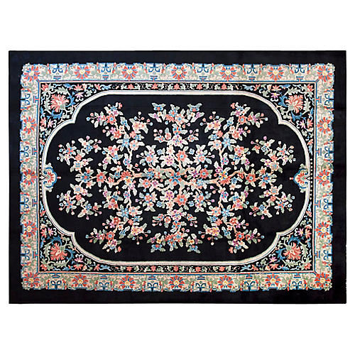 Chinese Art Deco Rug, 9' x 12'