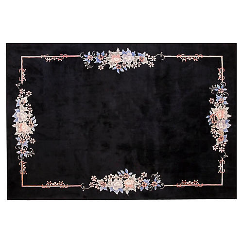 "Chinese Art Deco Rug, 8' x 11'2"""