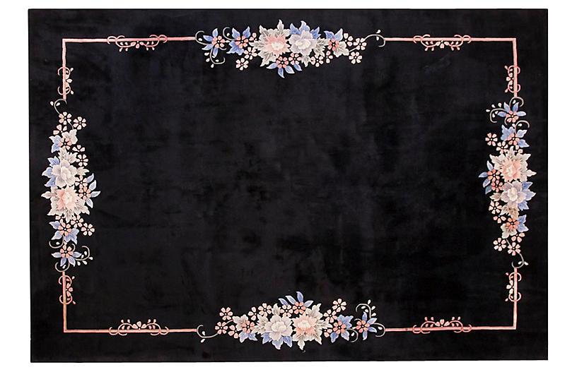 Chinese Art Deco Rug, 8' x 11'2