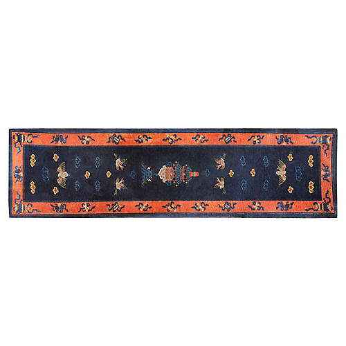 "Chinese Peking Runner, 3'2"" x 11'8"""