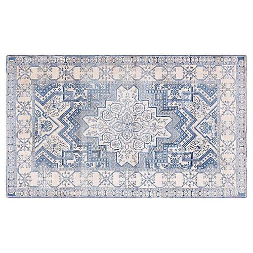 "Agra Wool Rug, 4'1"" x 6'8"""