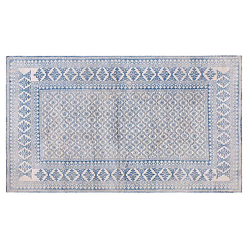Cotton Agra Rug, 4' x 7'