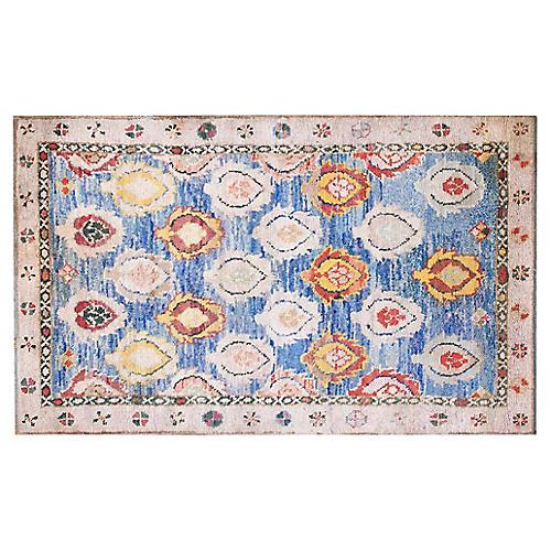 "Cotton Agra Rug, 4'2"" x 6'9"""