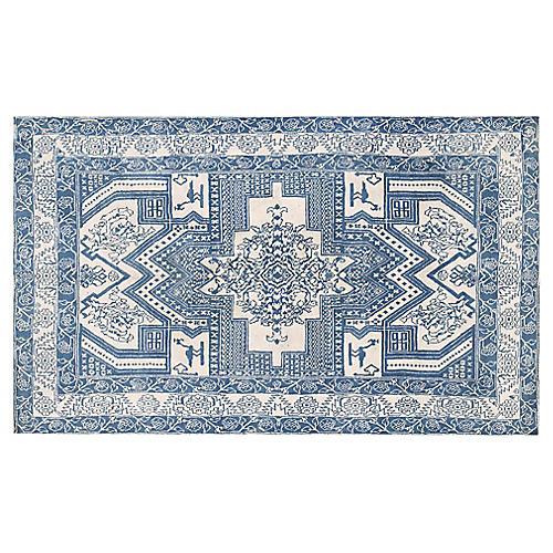 "Agra Wool Rug 4' x 6'6"""