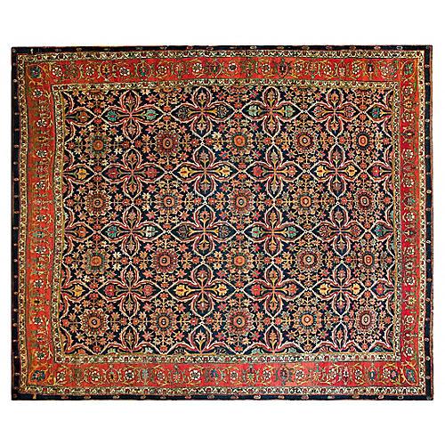 """Antique Bijar Rug, 12' x 14'2"""""""