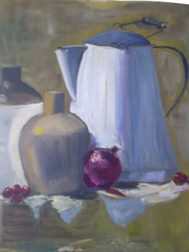 The Coffee Pot & Onion, C. 1950