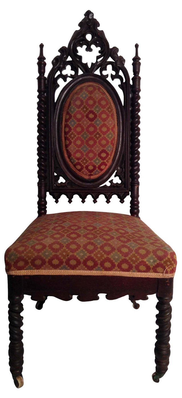 Antique Photography Chair
