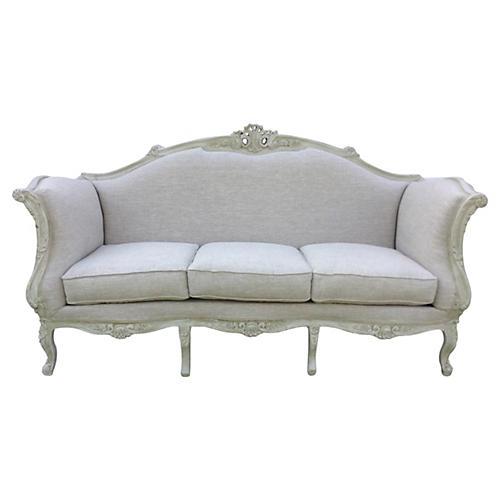 Linen European Sofa