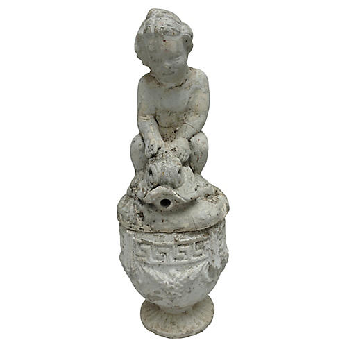 French Garden Statue, 2 Pcs