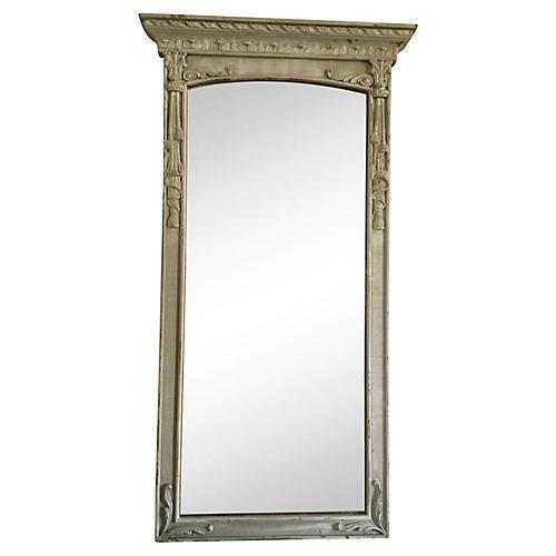 Carved Trimeau Mirror