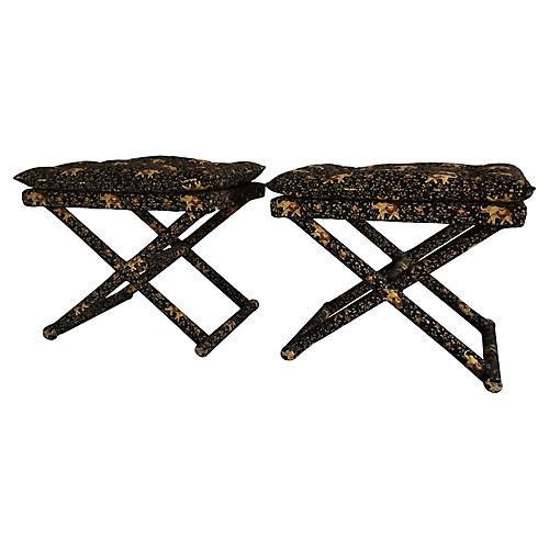 X-Base Benches, Pair