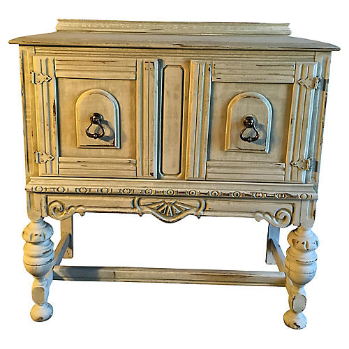 Petite Carved Cabinet