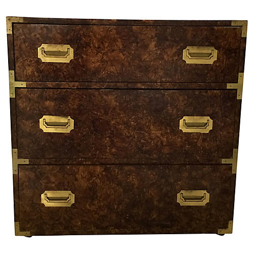 Campaign-Style Chest of Drawers