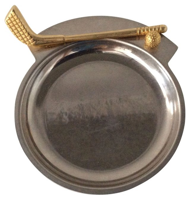 Brass & Stainless Steel Golf Catchall