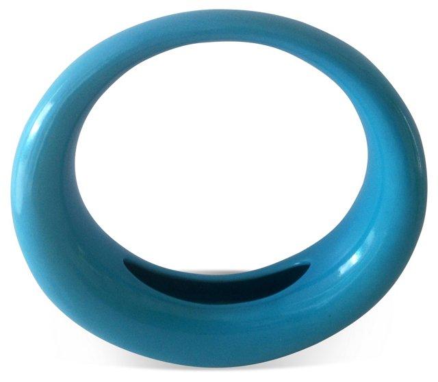 Midcentury Turquoise Vase