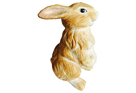 Ceramic Rabbit Figurine
