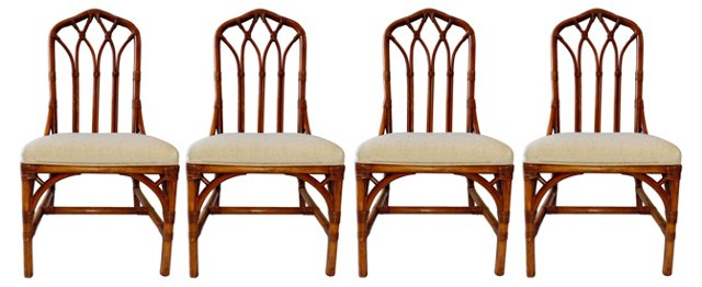 Henry Link Dining Chairs, Set of 4