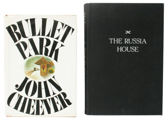 Cheever & Carré, 1st Editions, Pair