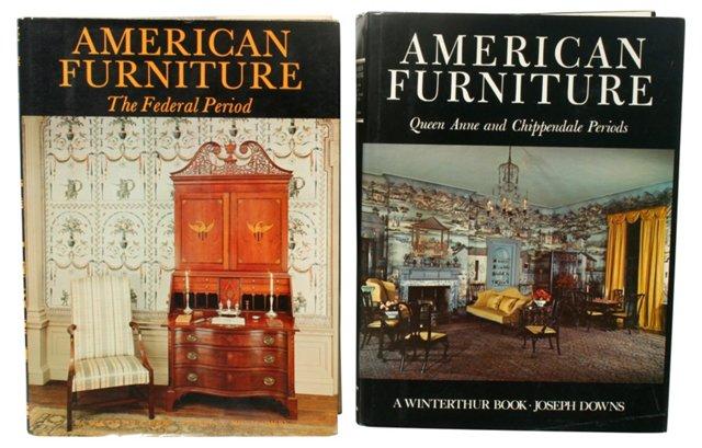 American Furniture Books, Pair